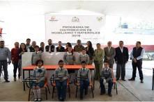 Entregan mobiliario en primarias de Tizayuca y arrancan drenaje sanitario4