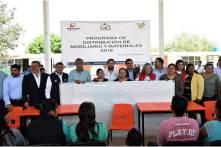 Entregan mobiliario en primarias de Tizayuca y arrancan drenaje sanitario5