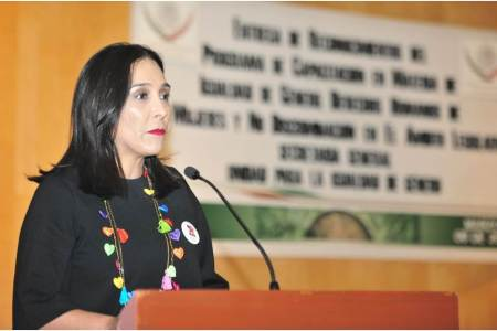 Erika Rodríguez hace un llamado a la Igualdad2