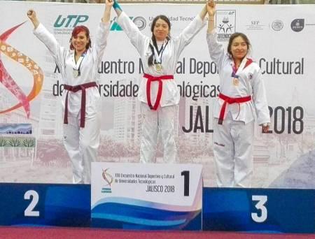 Estudiantes de la UTec destacan  en Taekwondo a nivel nacional1.jpg