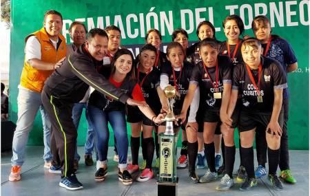 Finaliza Torneo de Futbol Canchitas en Cubitos 1