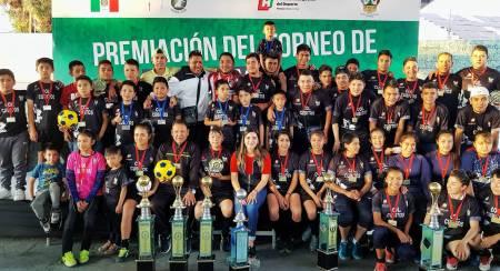 Finaliza Torneo de Futbol Canchitas en Cubitos 2