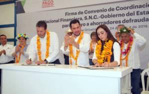 Gobierno del estado respaldará a ahorradores defraudados en Pachuca y la Huasteca 2