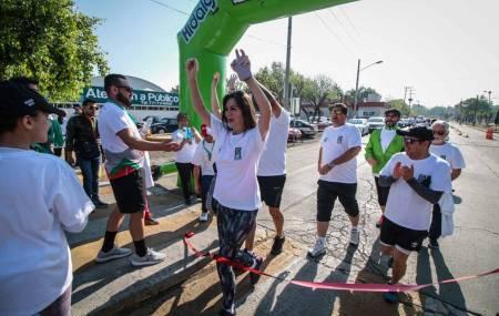 Gran participación en la caminata por la salud del 75 aniversario del IMSS en Hidalgo.jpg