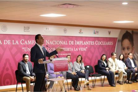 Hidalgo, sede de La Séptima Etapa de la Campaña Nacional de Implantes Cocleares4