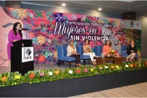 """IEEH inicia la campaña """"Candidatas libres de violencia""""6"""