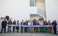 Inaugura alcalde Raúl Camacho Baños, Comandancia de Retención Primaria en la SSPM 2