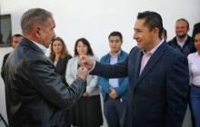 Inaugura alcalde Raúl Camacho Baños, Comandancia de Retención Primaria en la SSPM 3