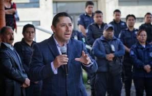 Inaugura alcalde Raúl Camacho Baños, Comandancia de Retención Primaria en la SSPM 6