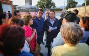 Inaugura Raúl Camacho ampliación de la red de drenaje pluvial en El Portezuelo 1