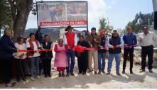 Inauguran obras en Vista Hermosa, Texcatzongo y en la cabecera municipal de Tepeapulco3