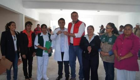 Inauguran obras en Vista Hermosa, Texcatzongo y en la cabecera municipal de Tepeapulco5