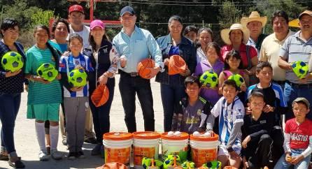 INHIDE realizó recorrido por el municipio de Omitlán 4