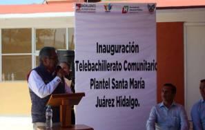 Invierte Gobierno del Estado de Hidalgo cerca de 2MDP en el Telebachillerato Santa María1
