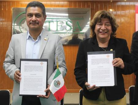 ITESA firma convenio de colaboración con el Colegio de Ingenieros Civiles del Estado de Hidalgo 1