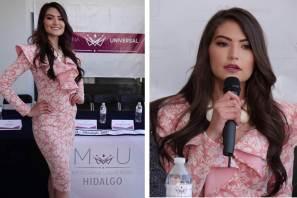 Jenyfer Benites Peñafiel, Reina Mexicana Universal-Hidalgo