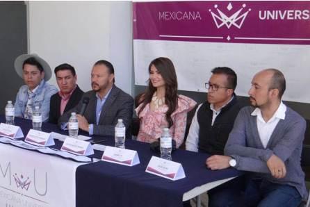 Jenyfer Benites Peñafiel, Reina Mexicana Universal-Hidalgo4