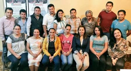 Movimiento Territorial realiza gira de trabajo en la Sierra y Huasteca Hidalguense2
