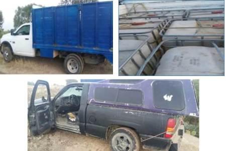 Policía Investigadora recupera dos camionetas con reporte de robo que eran utilizadas para traslado ilegal de hidrocarburo.jpg