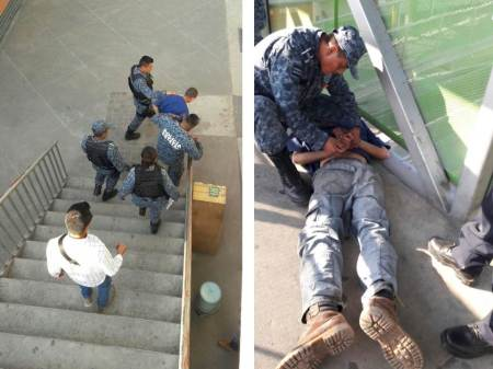 Policías estatales evitan un presunto suicidio; el joven fue rescatado y entregado a sus familiares