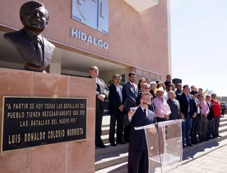 PRI Hidalgo conmemora el Aniversario Luctuoso de Luis Donaldo Colosio1