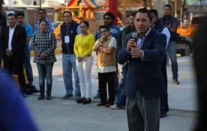 Raúl Camacho inaugura pavimentaciones de concreto 4