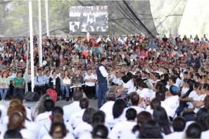 Reconoce gobernador Omar Fayad a la federación por histórica incorporación de mujeres a Prospera