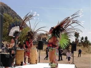 Reviven tradiciones prehispánicas en actividades realizadas en la zona arqueológica de Tepeapulco2
