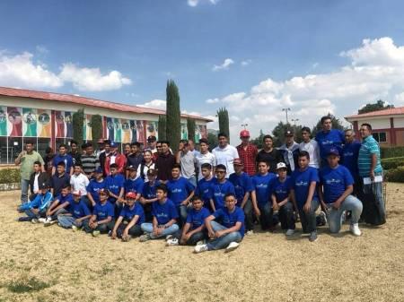 Selección de beisbol de Hidalgo partió a regional de Olimpiada Nacional .jpg