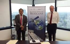 Sostienen reunión de trabajo Gobierno del Estado de Hidalgo y Agencia Espacial Mexicana1