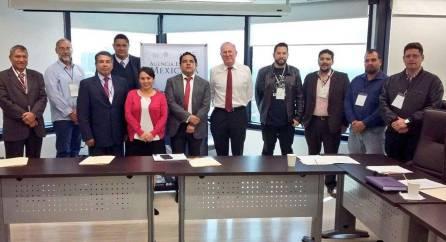 Sostienen reunión de trabajo Gobierno del Estado de Hidalgo y Agencia Espacial Mexicana4