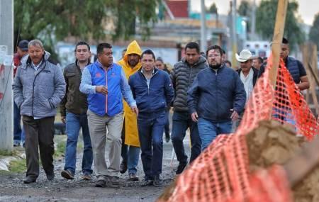 Supervisa Raúl Camacho Baños, construcción de dren pluvial en Campestre Villas del Álamo  2.jpg