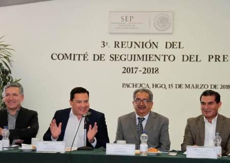 Titular de la SEPH preside tercera reunión del comité de seguimiento PRE