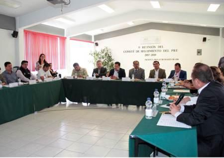 Titular de la SEPH preside tercera reunión del comité de seguimiento PRE2