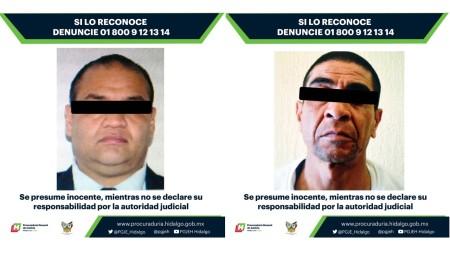 Ubican a dos presuntos implicados en robo a cuentahabientes