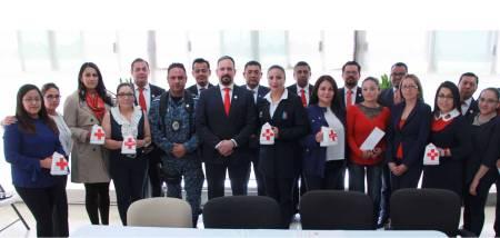 Voluntariado de la Secretaría de Seguridad Pública de Hidalgo se suma a colecta de Cruz Roja.jpg