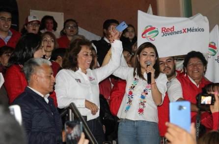 Arranca campaña de Silvia López en Tizayuca4