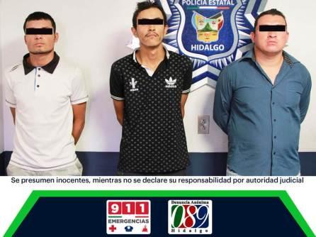 Atrapan en Tizayuca a tres probables asaltantes de autobuses4