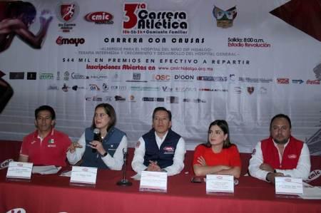 CMIC presentó la tercera edición de su Carrera con Causa