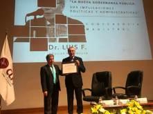 """Colegio Libre de Hidalgo organizó la Conferencia Magistral """"La Nueva Gobernanza Pública. Sus implicaciones políticas y administrativas""""3"""
