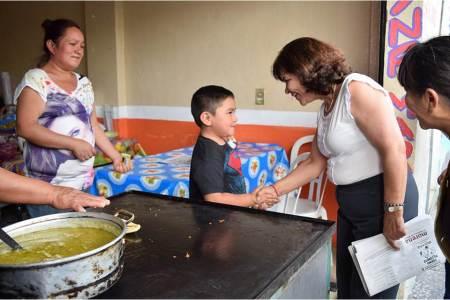 Combatiré la pobreza alimentaria en Hidalgo con recursos bien vigilados, Lidia García
