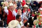 Con ceremonia indígena reciben a Nuvia Mayorga en Acaxochitlán3