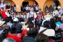 Con ceremonia indígena reciben a Nuvia Mayorga en Acaxochitlán5