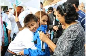 Con unidad Eréndira Contreras arrancó campaña en el Distrito XVII