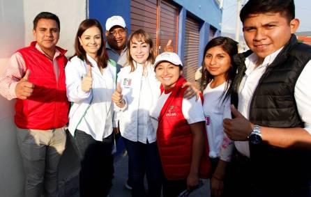 Desde el Senado de la República trabajaré por la tranquilidad de las familias, dijo Nuvia Mayorga en Pachuca2