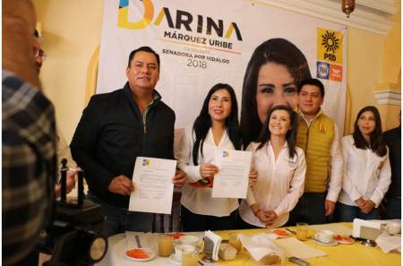 Designan a Hilda Miranda y Asael Hernández como Coordinadores de Campaña en Hidalgo