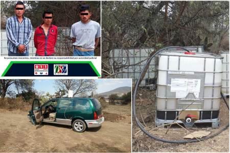 Detienen a seis personas relacionados con actividades ilícitas registradas en la zona de Tepeapulco