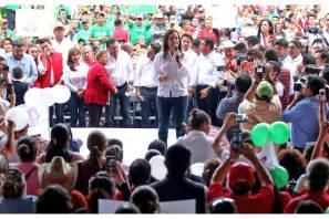 """""""La Coalición Todos por México, garantía de un buen futuro para el país e Hidalgo"""", Nuvia Mayorga Delgado"""