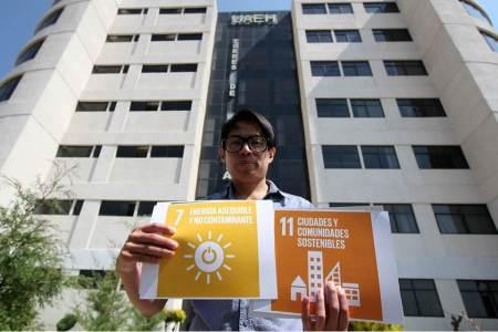 Egresado de UAEH, embajador de iniciativa de la ONU