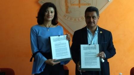 El Colegio de Ingenieros Civiles de Hidalgo, y la delegación de la Secretaría de Economía firmaron un convenio de colaboración